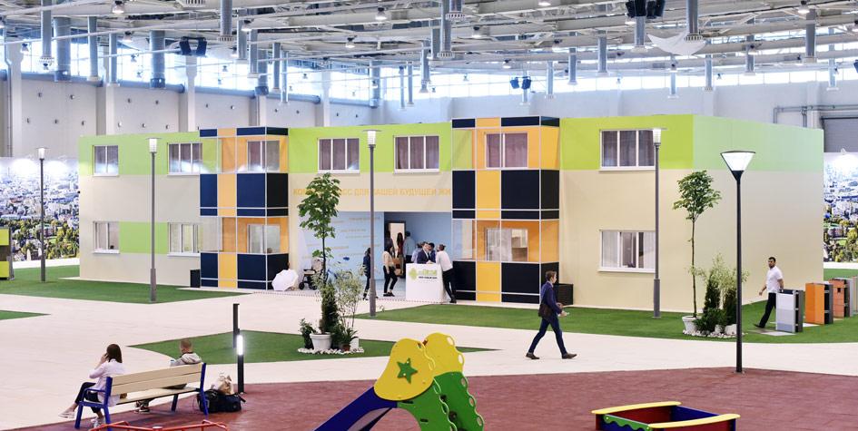 Шоу-рум интерьеров будущих квартир на форуме MUF