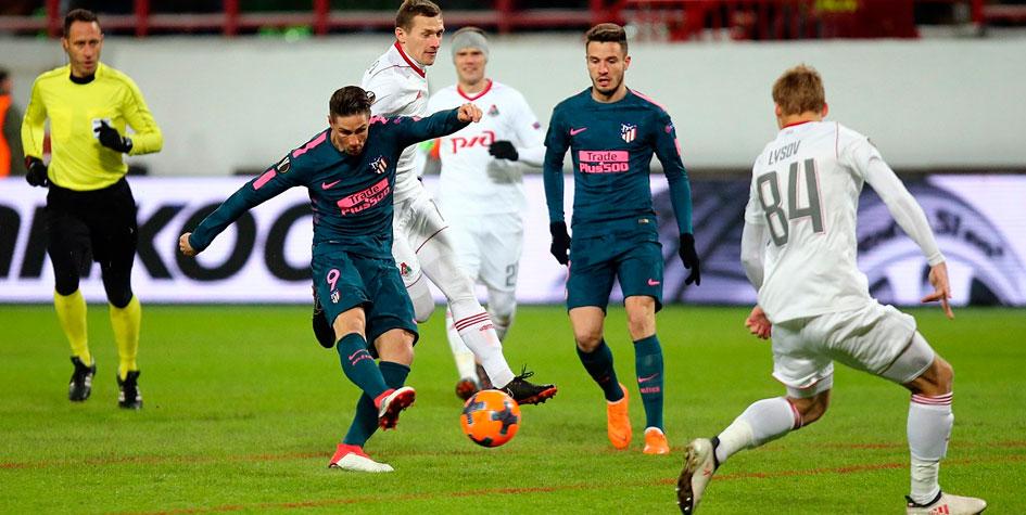 «Локомотив» пропустил от «Атлетико» восемь голов в двух матчах