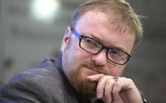 Депутат Законодательного собрания Петербурга Виталий Милонов