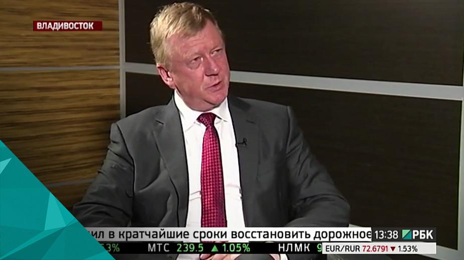 Анатолий Чубайс, председатель правления «Роснано»