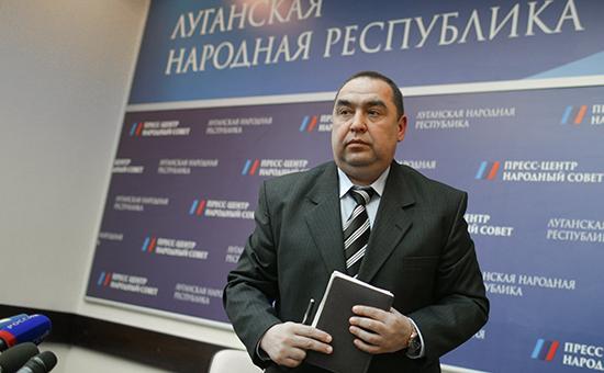 Действующий глава ЛНР Игорь Плотницкий