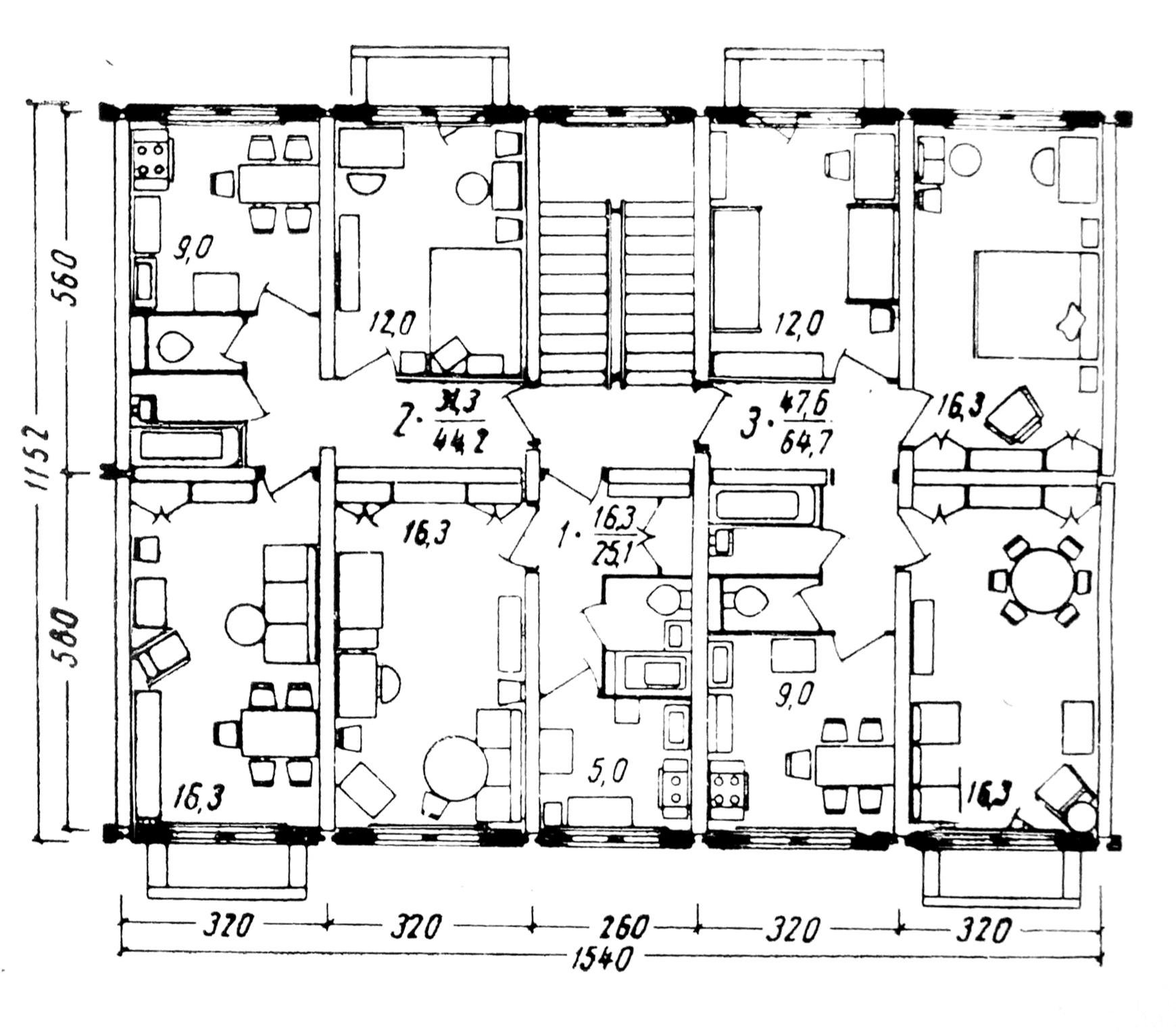 Серия КПД-4570. Архитектор Е.Асс