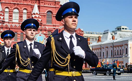 Празднование 71‑летия Победы на Красной площади