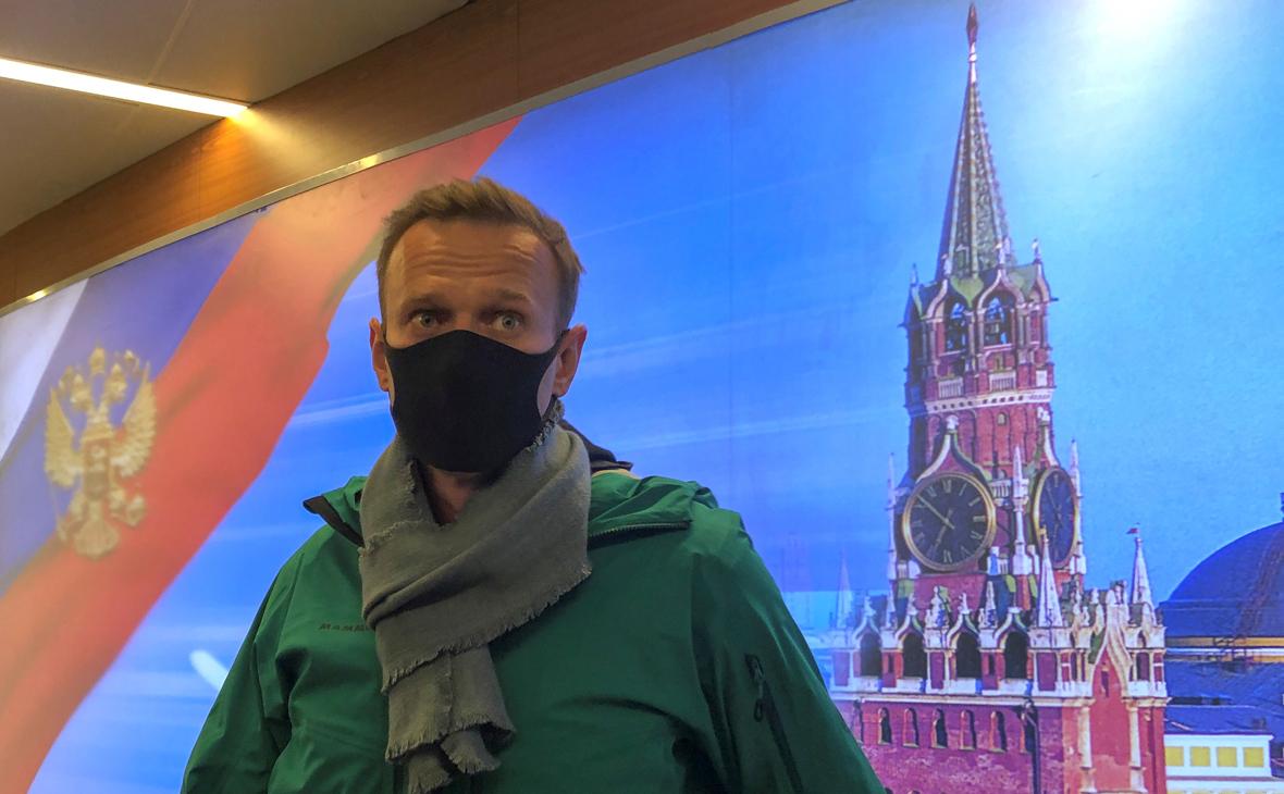 ФСИН объяснила задержание Навального