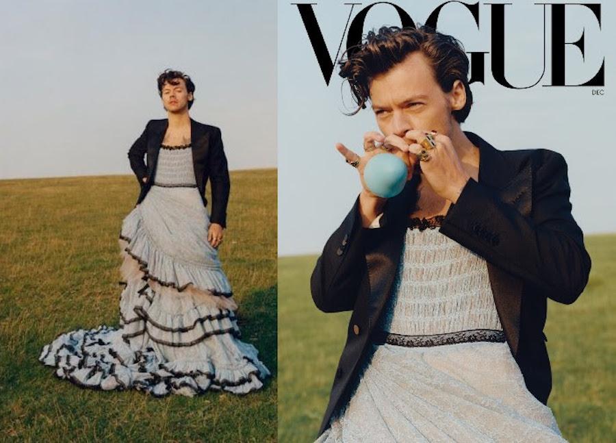 Гарри Стайлс для Vogue US, декабрь 2020