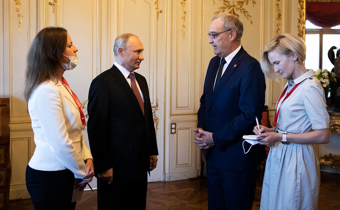 Владимир Путин иГи Пармелен