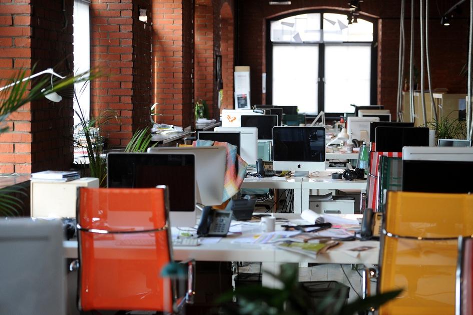 В офисе объединенной компании «Афиша-Рамблер» на «Даниловской Мануфактуре»