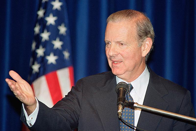 Госсекретарь США Джеймс Бейкер. 1991 год