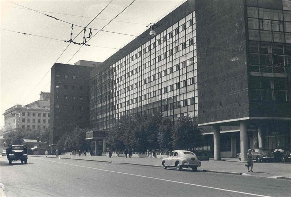 Вид на здание Центросоюза