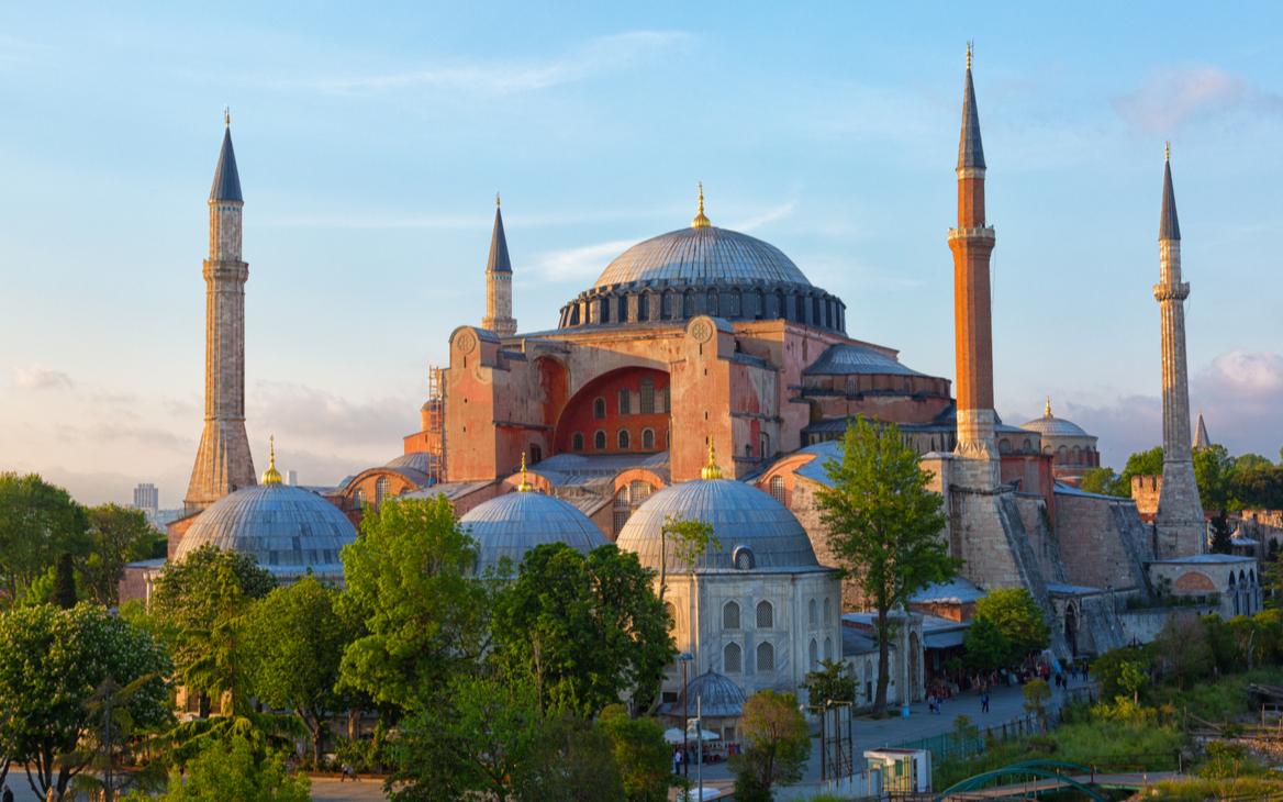 Мечеть Айя-София в Стамбуле, Турция