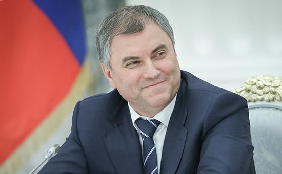Первый замруководителя администрации президента Вячеслав Володин