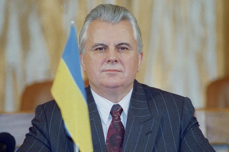Президент Украины Леонид Кравчук. Декабрь1991 года