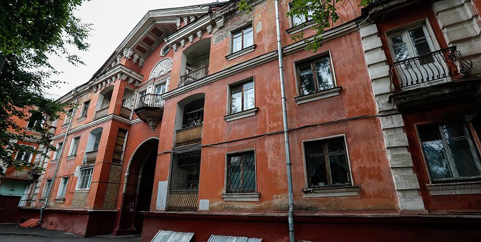 Исторические здания в Москве, попавшие в проект программы реновации: жилой дом на улице Руставели, 3, корп. 3, построенный в 1952 году
