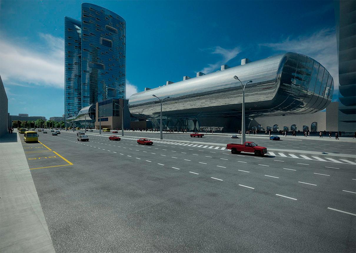 Фото:Zaha Hadid Architects via  Музей «Москва-Сити»