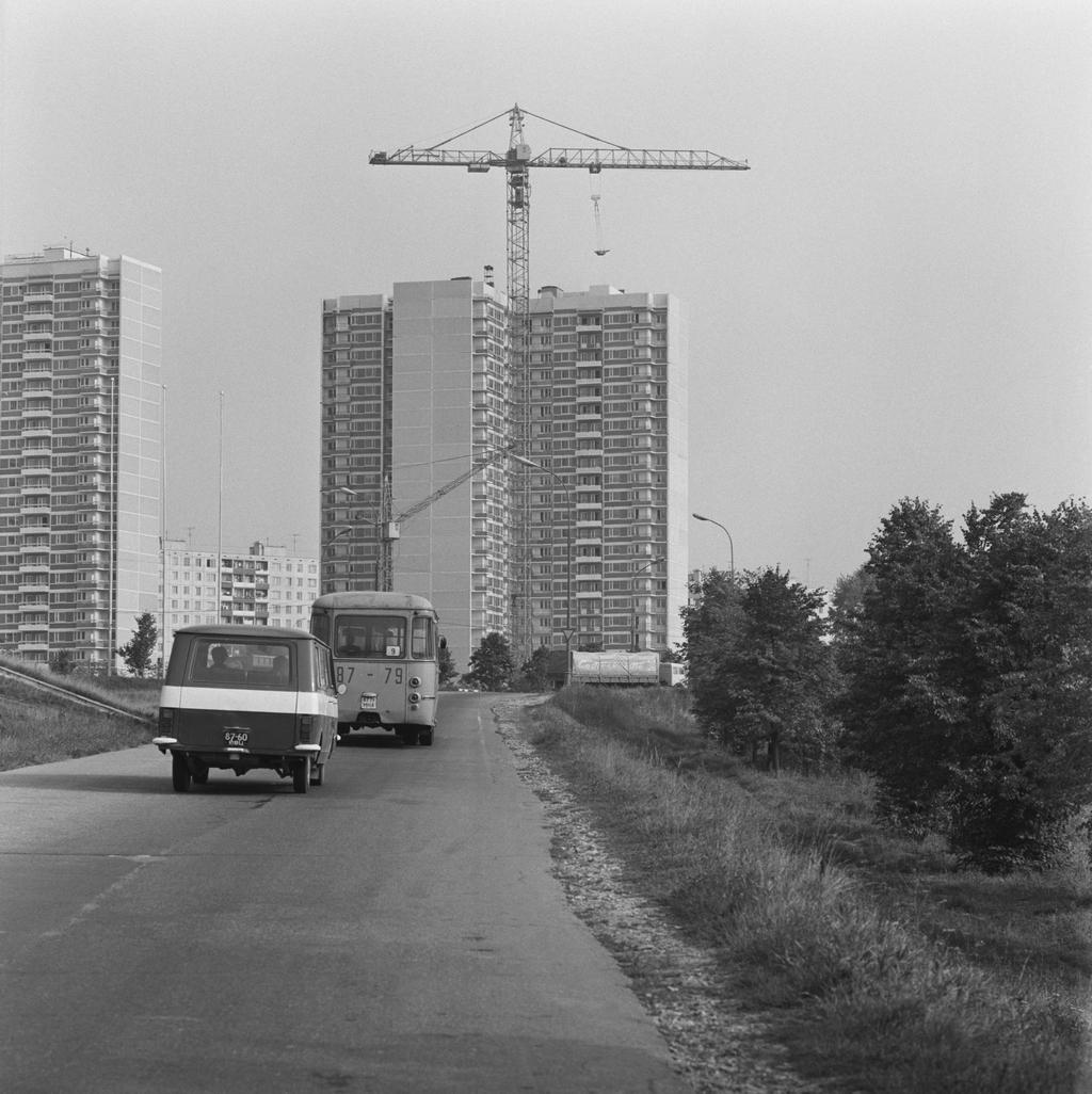 Можайское шоссе. 1982 год