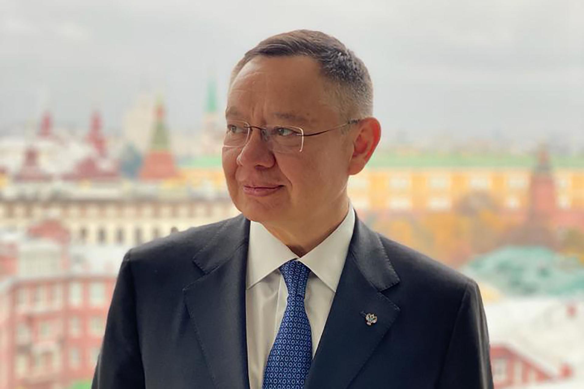 Министр строительства и ЖКХ России Ирек Файзуллин