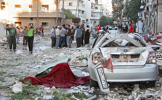 Идлиб, Сирия, сентябрь 2016 года