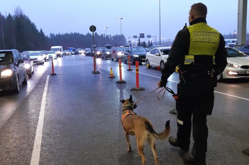 Фото: страница Пограничной охраны Финляндии в Facebook