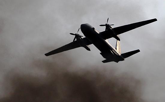 Самолет Ан-26. Апрель 2015 года