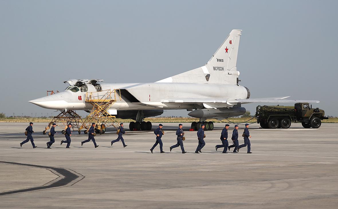 Дальний бомбардировщик-ракетоносец Ту-22М3