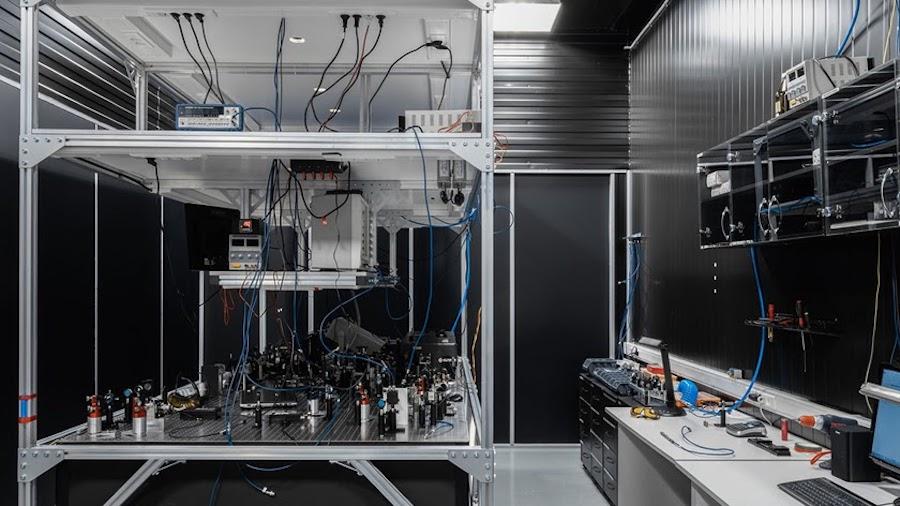 Учебная лаборатория квантовой оптики РКЦ