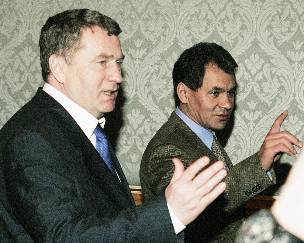 МВД Украины вызвало на допрос Шойгу и Жириновского