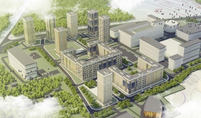 План нового жилого района на 170 тыс. кв. м в Северном Бутове