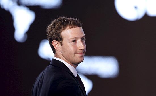 Глава FacebookМарк Цукерберг