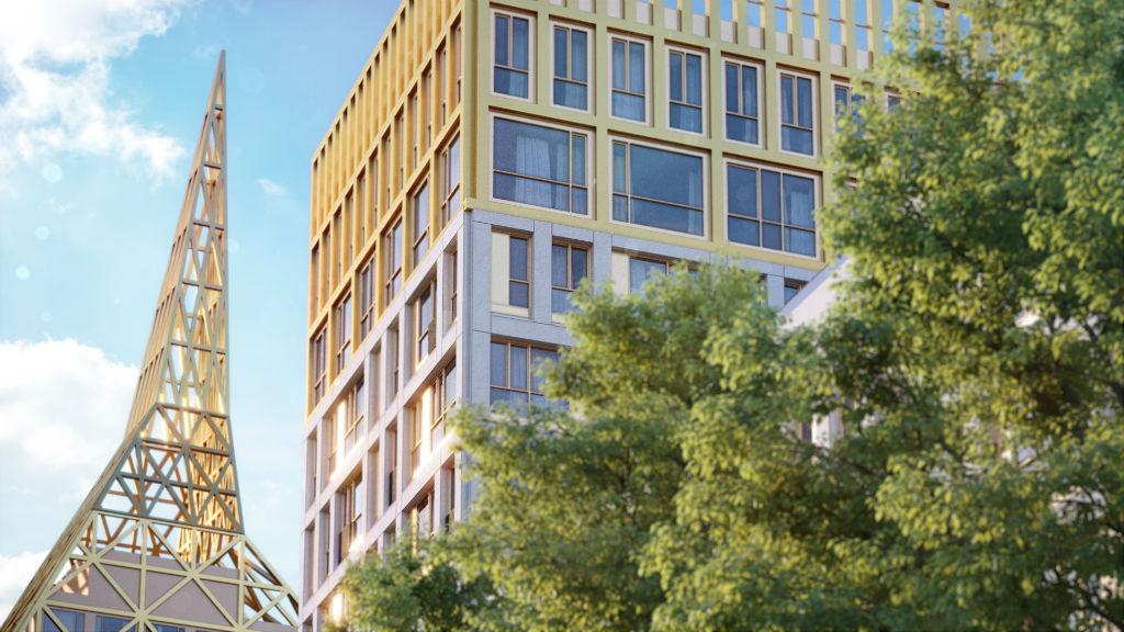 Визуализация проекта Golden City