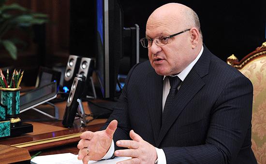 Губернатор Еврейской автономной области Александр Винников