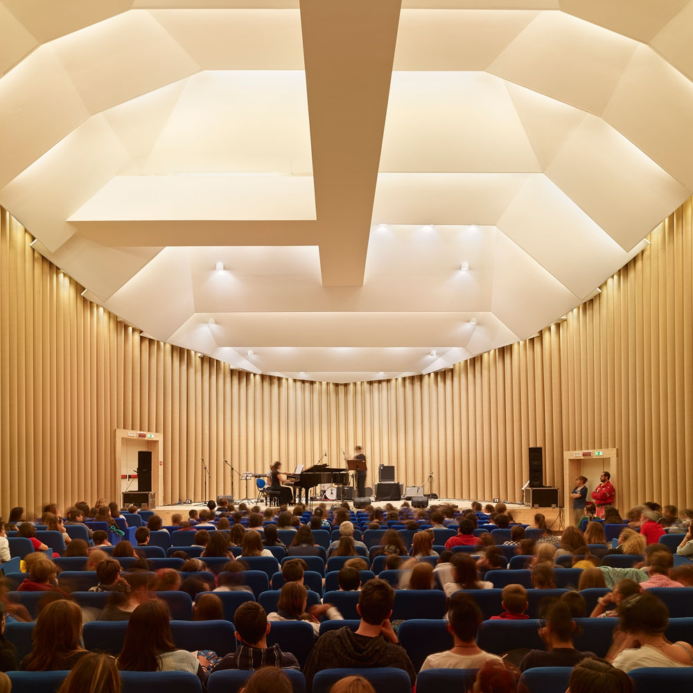 Paper Concert Hall, 2011, L'Aquila, Italy