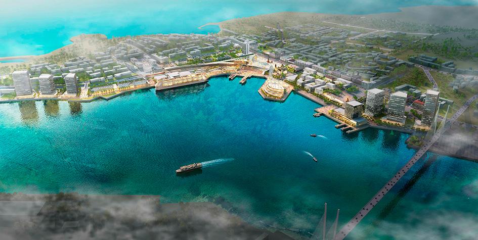 Перспективный план развития набережной Владивостока