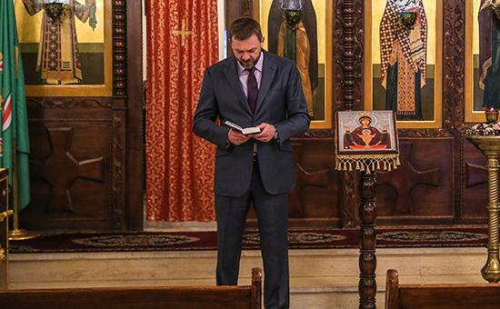 Сенатор Дмитрий Саблин, возглавляющий организацию «Боевое братство»
