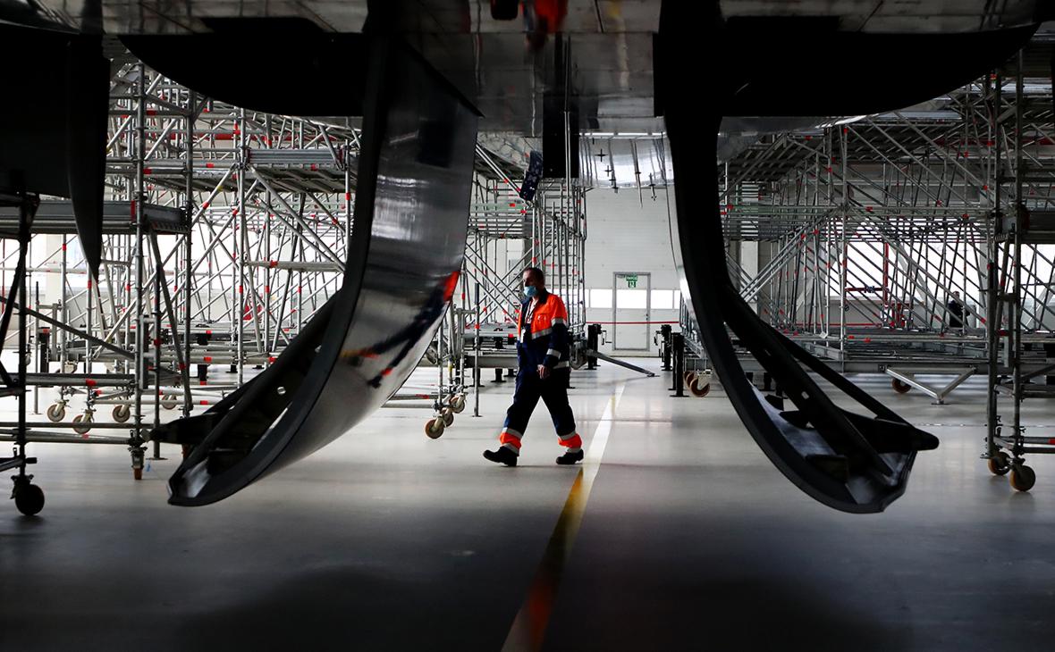 Ангарный комплекс для воздушных судов