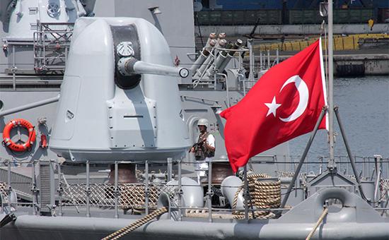 Турецкий фрегат «Явуз». 2010 год