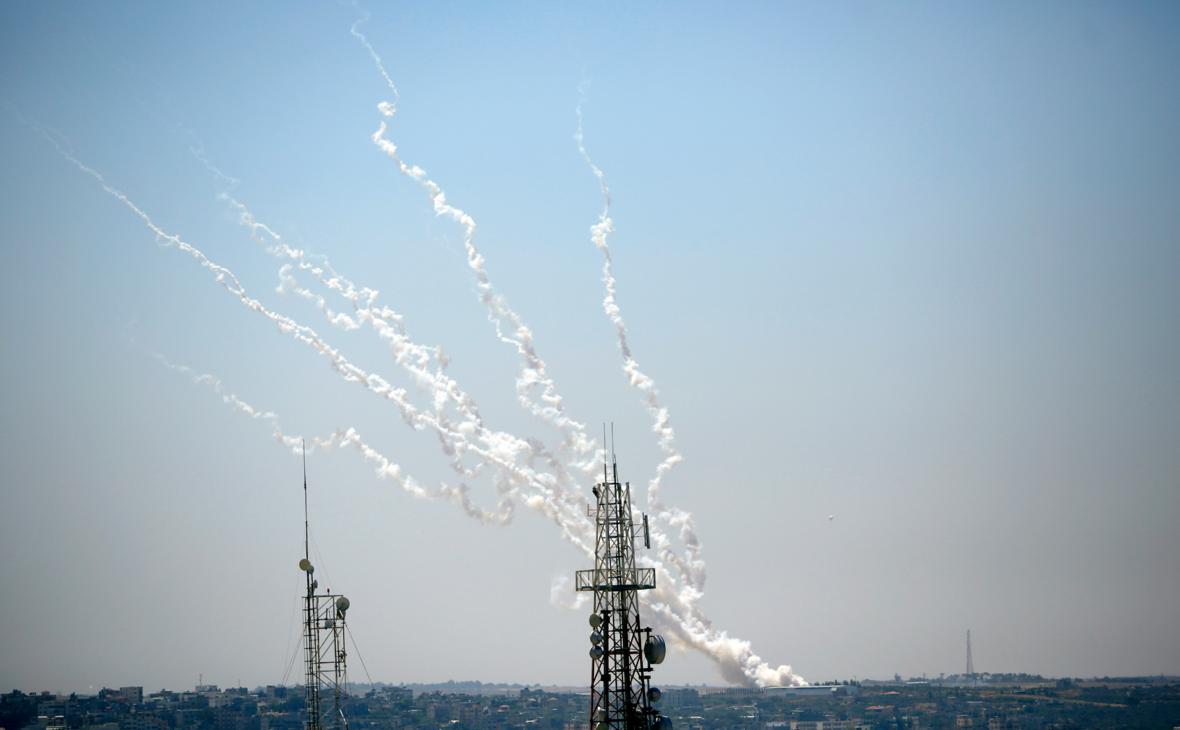 Ракеты запущенные из сектора Газа в Израиль