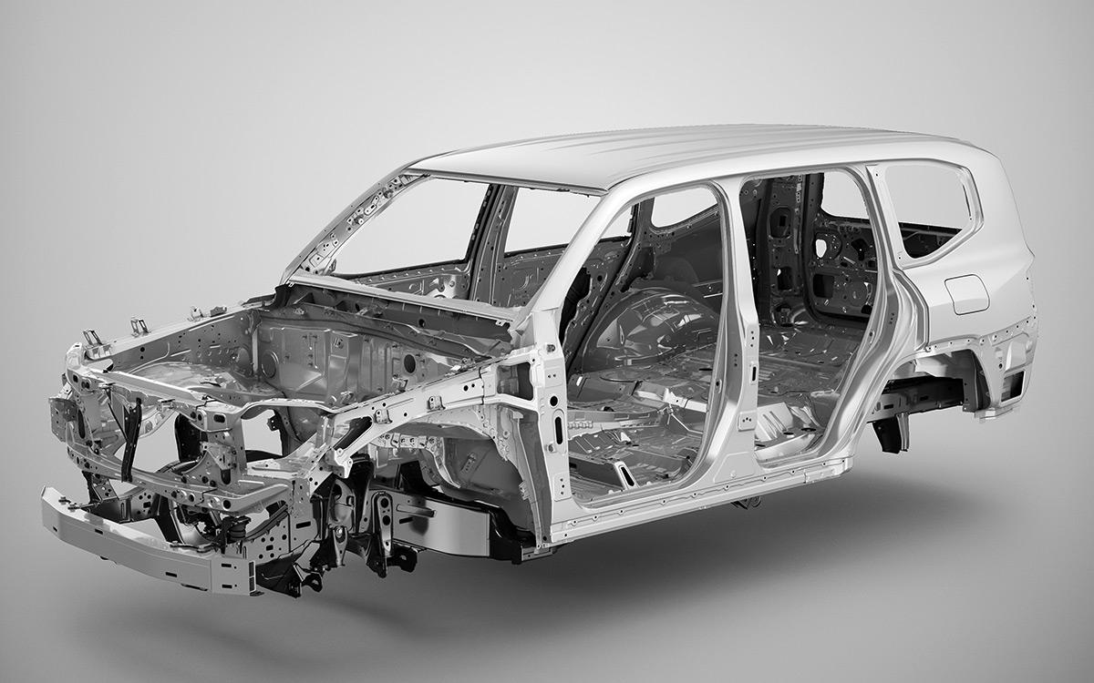 Кузов самого дорогого внедорожника Toyota