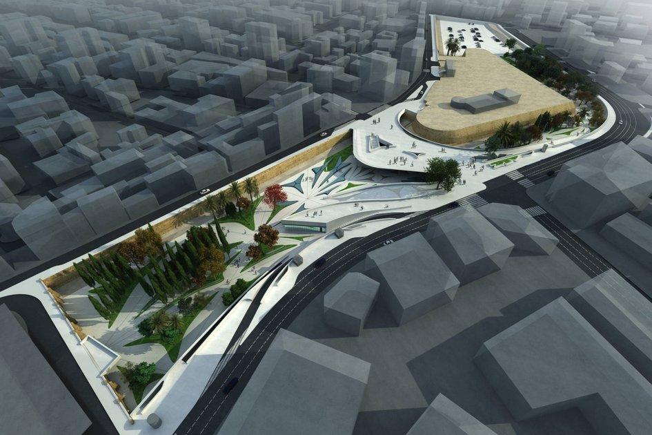 Никосия, Кипр  Заха Хадид выиграла конкурс наобновлении Элефтерии в2012 году. С тех пор встолице Кипра непрекращаются строительные работы. За пятьлет, прошедшие содня конкурса, местные строители так инесмогли воплотить проект Zaha Hadid Architects вбетоне: местные жители жалуются, чтоодна изцентральных площадей города уже много лет находится зазабором, итребуют сделать Элефтерию полностью пешеходной. Проект Захи Хадид предусматривает ограниченное автомобильное движение вдве полосы