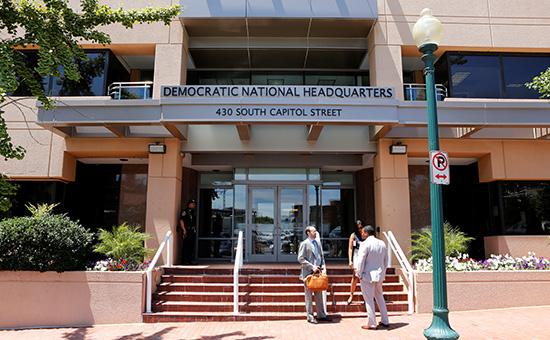 Штаб-квартира национального комитета Демократической партии вВашингтоне. 14 июня 2016 года