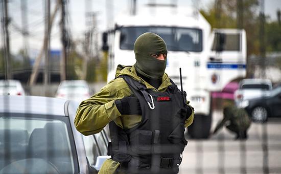 СотрудникФСБ России в Крыму.2015 год