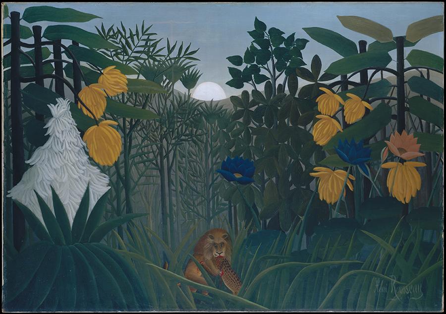 «Трапеза льва», Анри Руссо, 1907 год