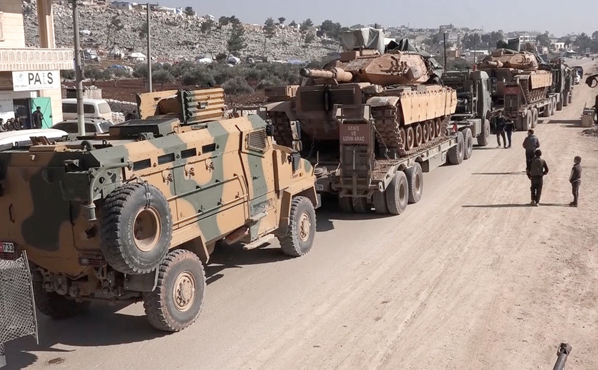 Вооруженные силы Турции в провинции Идлиб, Сирия