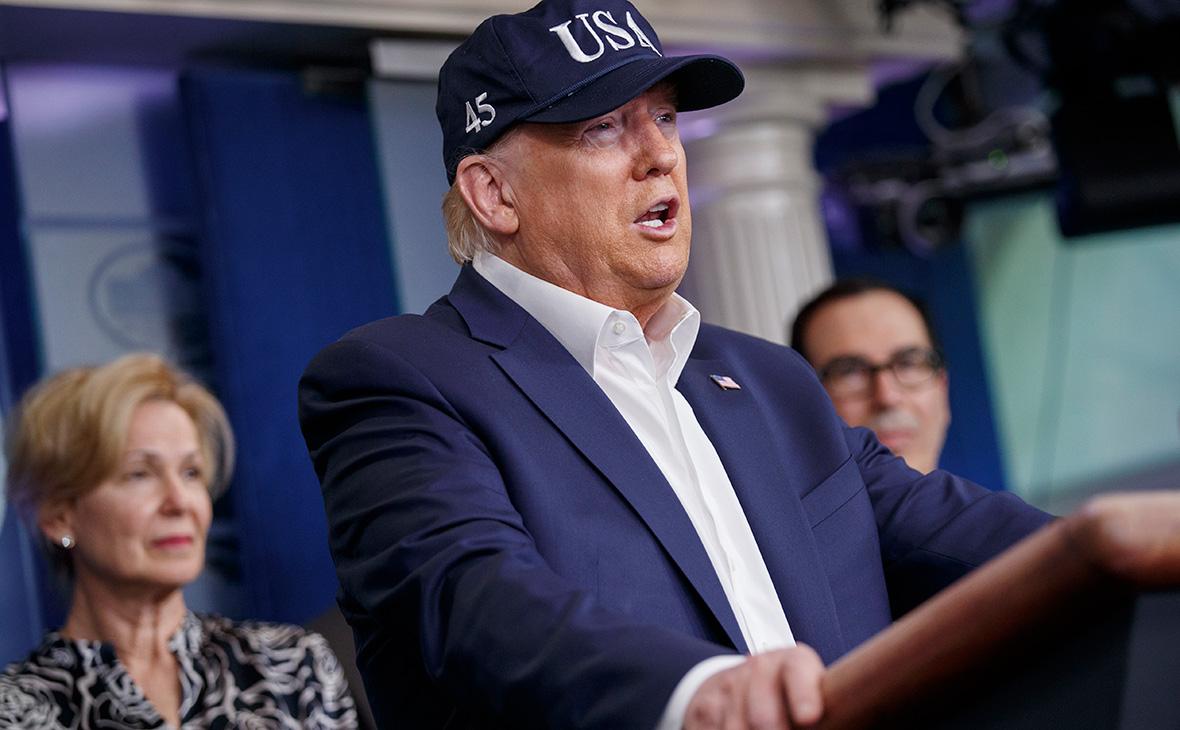 Трамп сдал тест на коронавирус :: Политика :: РБК