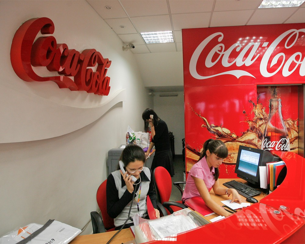 Работники компании кока кола овсяный напиток купить