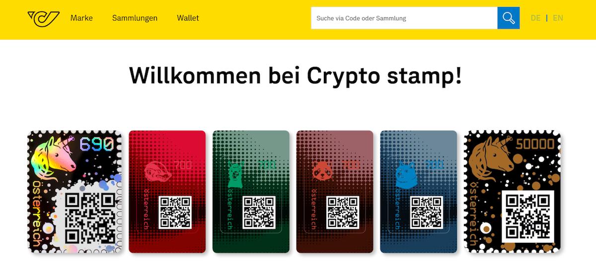 Проект Crypto Stamp