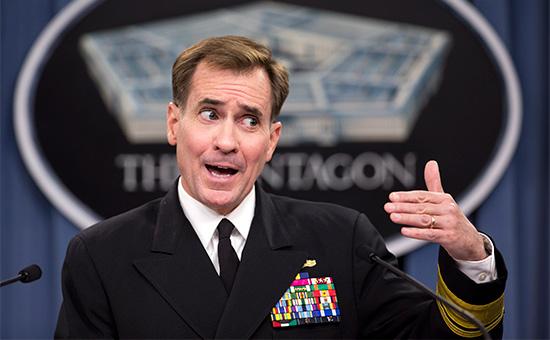 Официальный представитель Госдепа США адмирал Джон Кирби