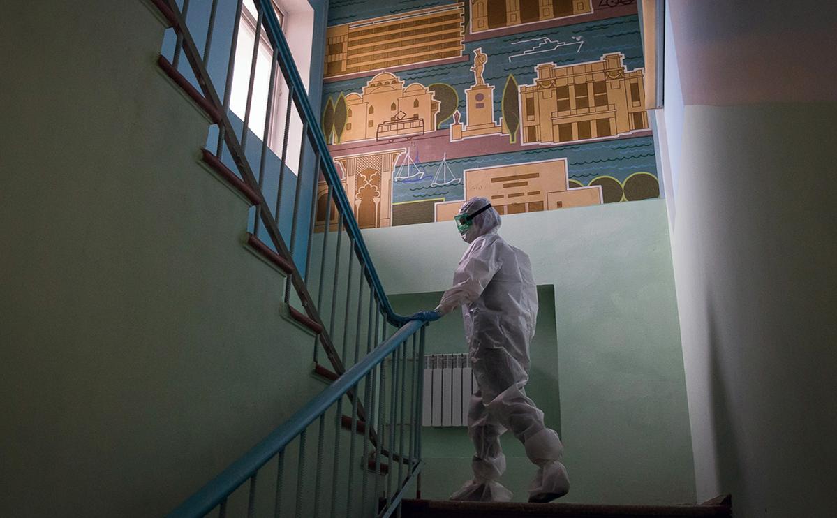 Медицинский работник в санатории «Прибой»