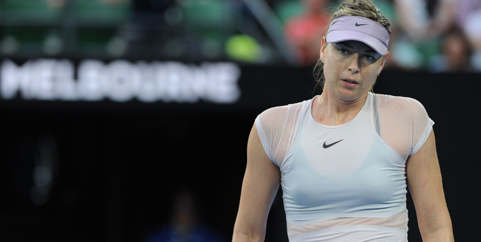 Шарапова потерпела разгромное поражение на Australian Open