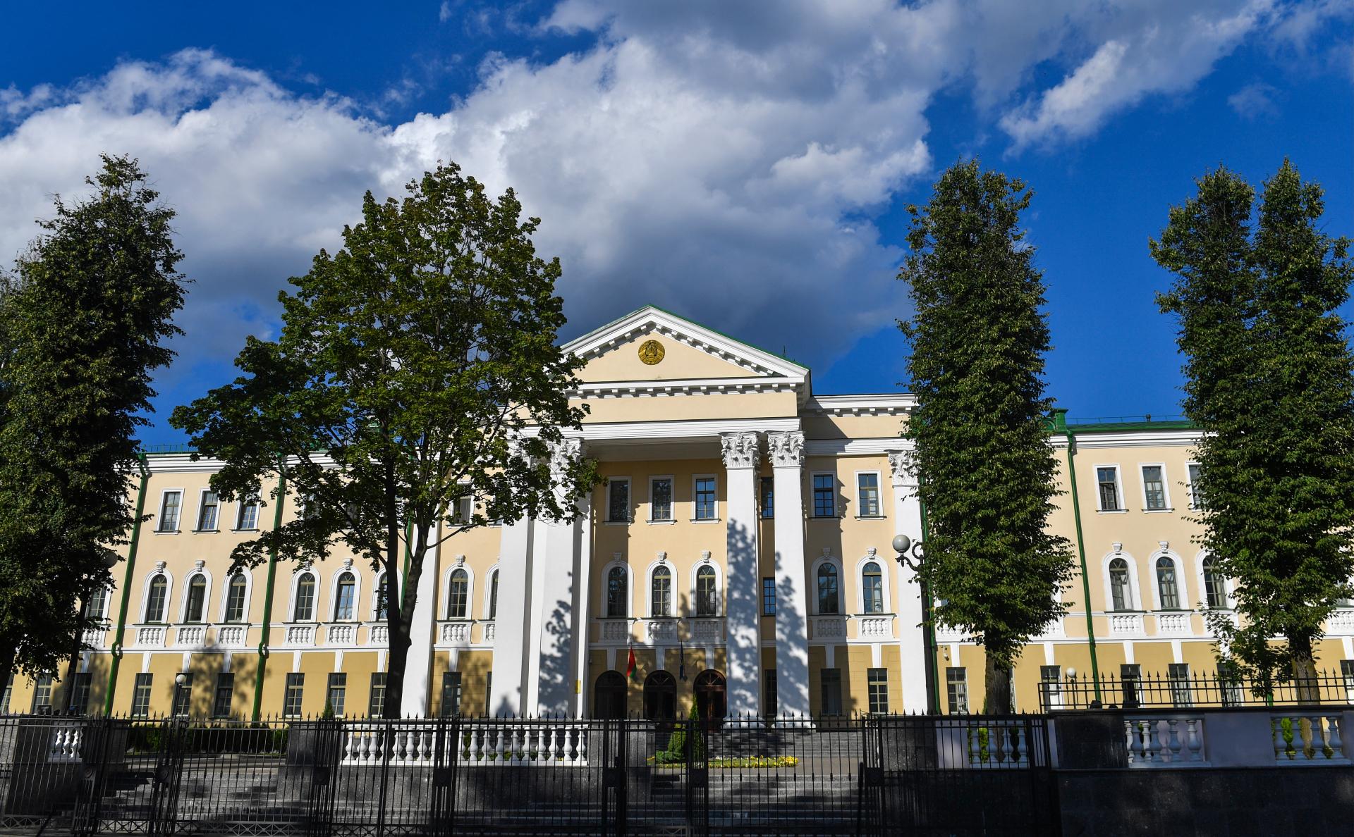 Здание СК Белоруссии