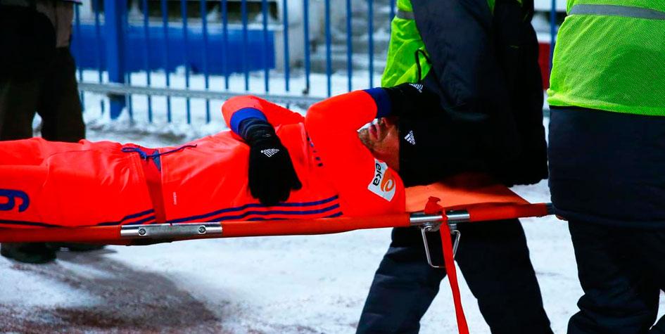 Два игрока ЦСКА получили переломы в матче при температуре -17